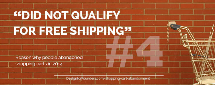 Did not qualify for free shipping