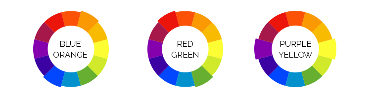 It's best to pick 2 contrasting colours for your colour scheme — one of the shades should be used as an accent colour.
