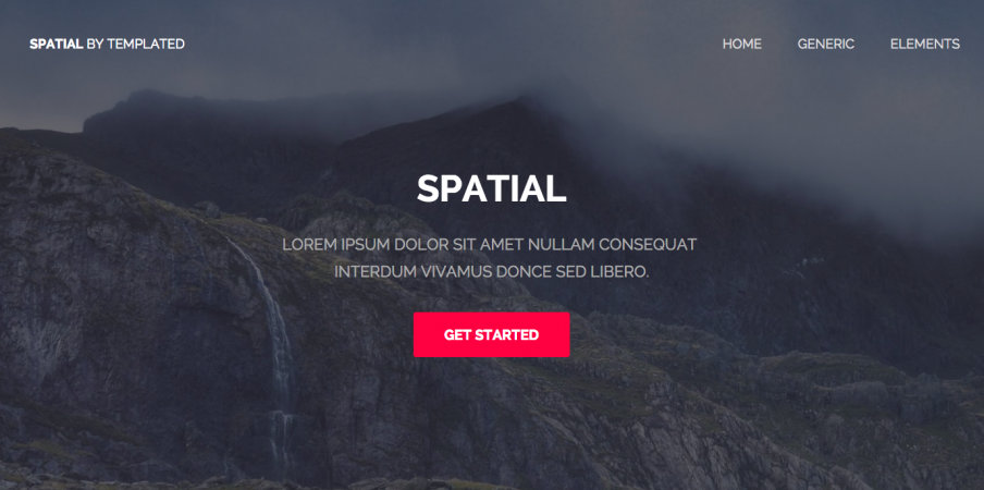html template spectral