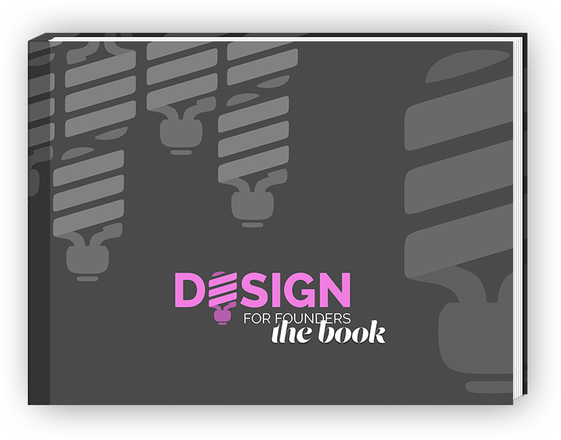 Design for Founders - the book