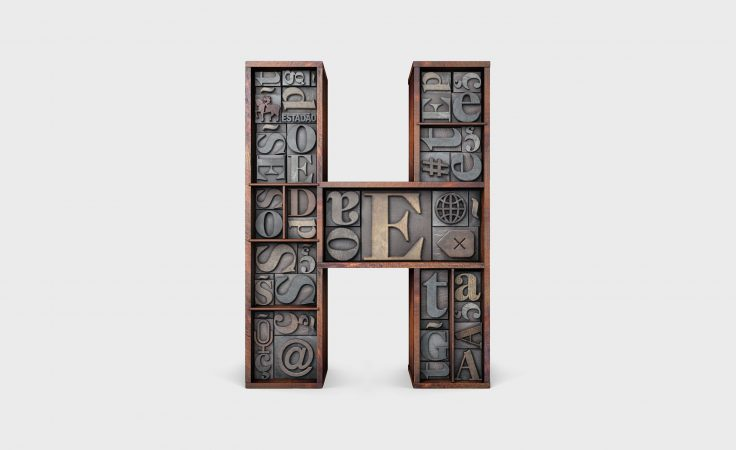 This Agency's Designers Are Obsessed With Re-Designing a Single Letter Huge's Weird Side Project Is Simply Creating Different H Designs