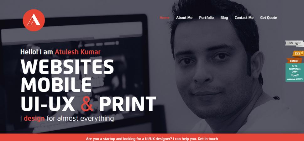 Atulesh Kumar, designer portfolio