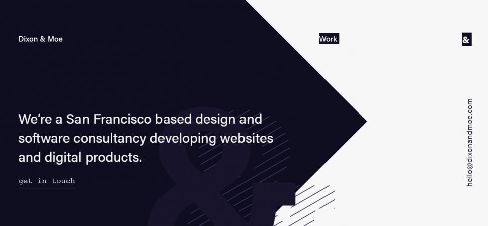 Dixon and Moe, designer portfolio