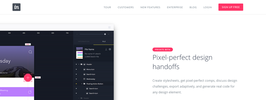 InVision, web design tips