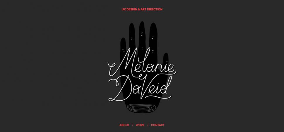 Melanie Daveid, designer portfolio