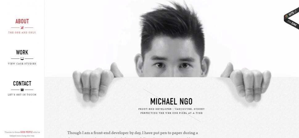 Michael Ngo, designer portfolio