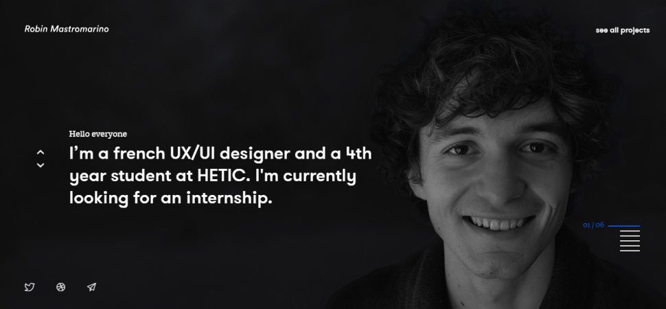 Robin Mastromarino, designer portfolio