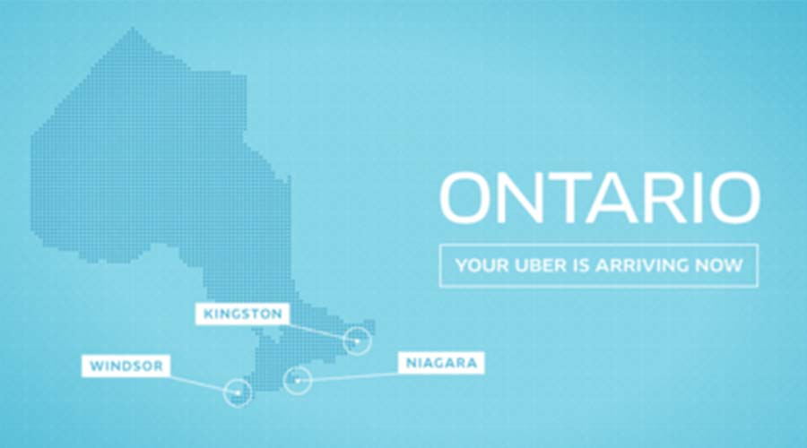Uber, social media marketing graphics