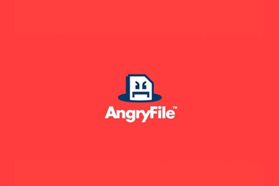Angry File, logo design inspiration
