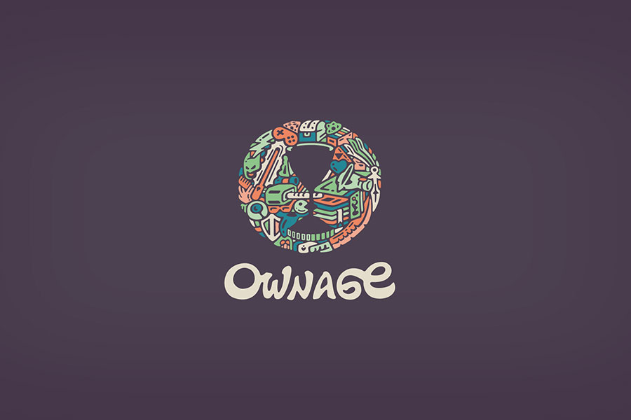 Ownage, logo design inspiration