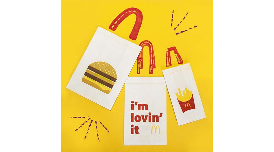 McDonald's, social media marketing graphics