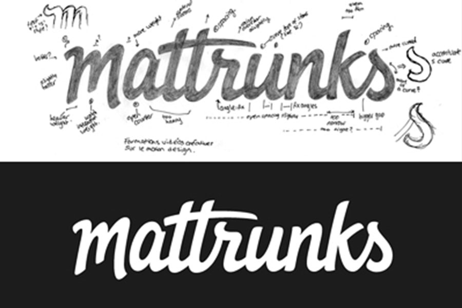 Mattrunks vector, logo design inspiration