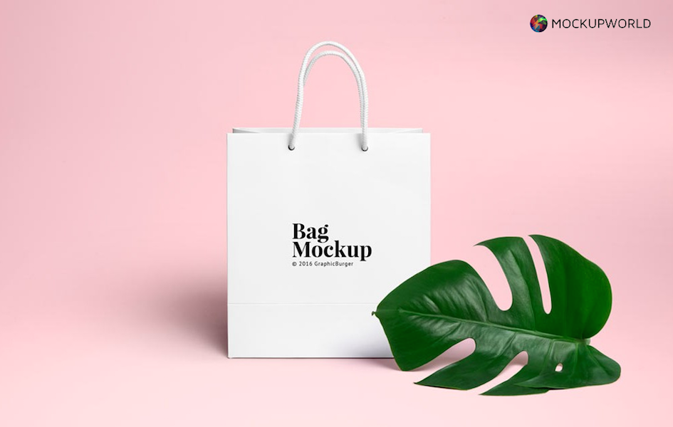 Shopping Bag Mockup, free design mockups