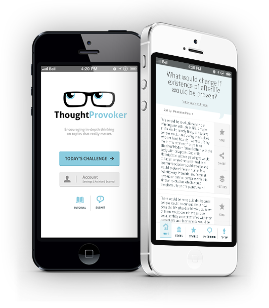 thoughtprovoker app