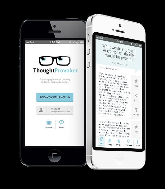 thoughtprovoker app