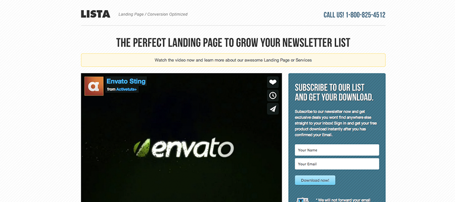 Brutal Critiques of 10 Top-Selling Landing Page Templates From ...