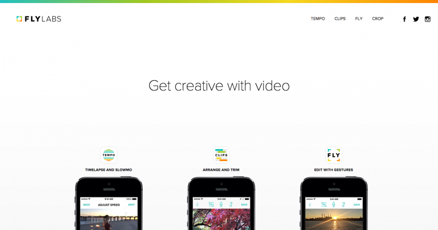 Fly Labs – Video Editing Apps for iPhone