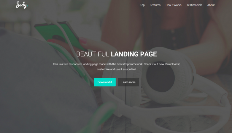 Top Landing Page Templates For Startups Available For Free Right Now - Landing page html template
