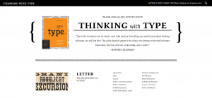 Thinking with Type Home