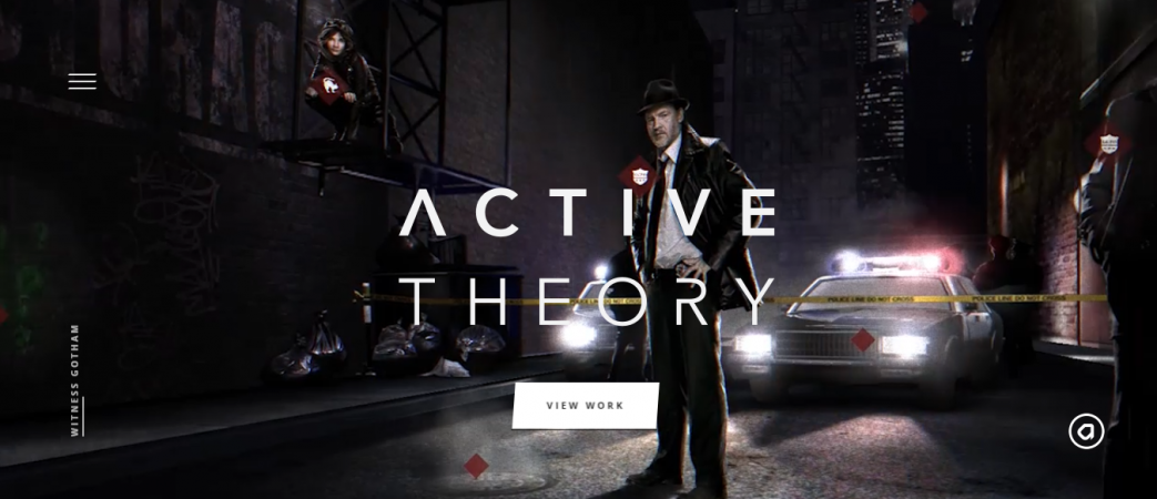 Active Theory, website design inspiration