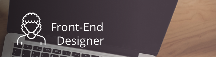 types of designers front-end designer