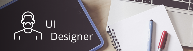 types of designers UI designer