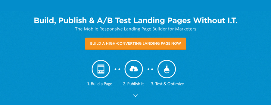 Unbounce, web design tips