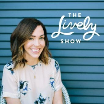 the lively show podcast cover art