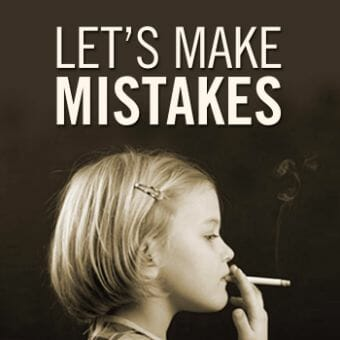 lets make mistakes podcast cover art