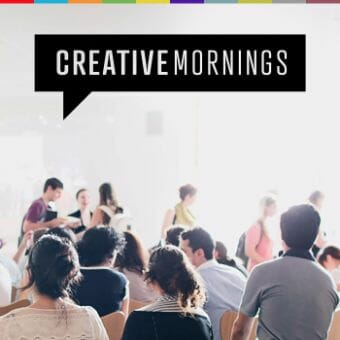 creative mornings podcast cover art