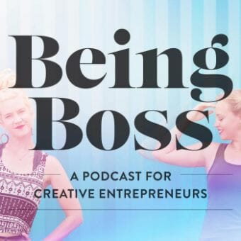 being boss podcast cover art
