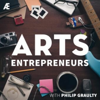 arts entrepreneurs podcast cover art