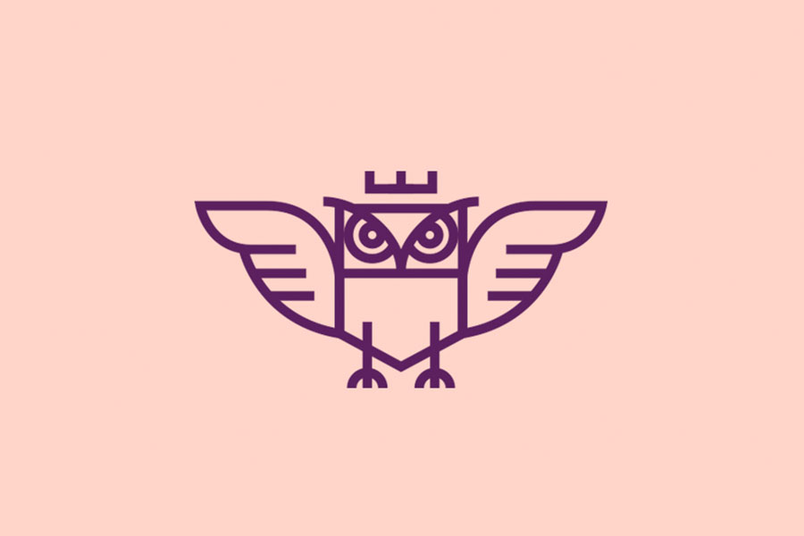 Owl, logo design inspiration