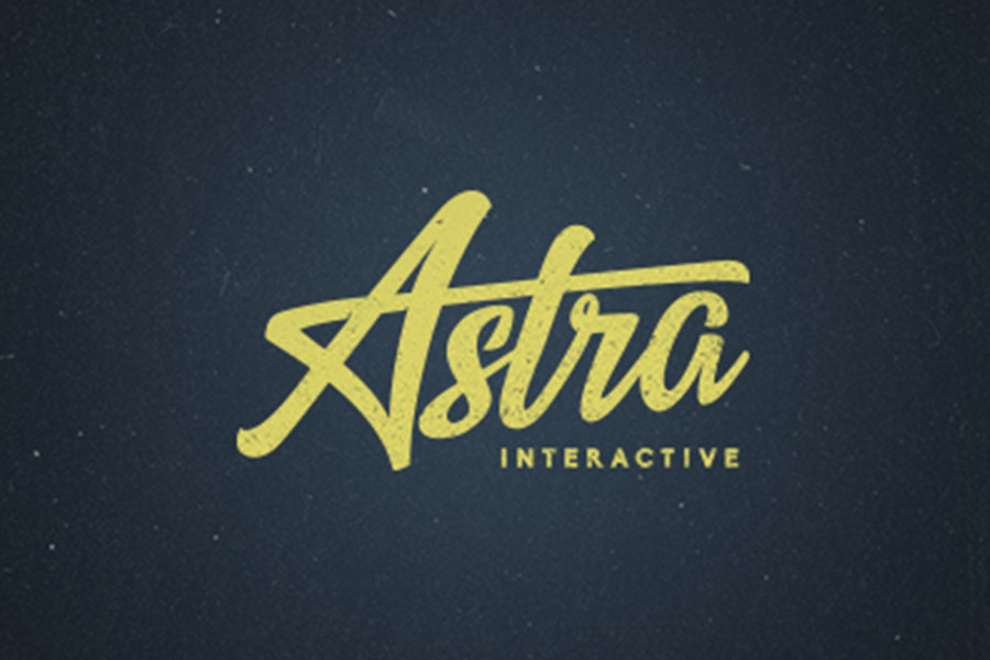 Astra Interactive, logo design inspiration